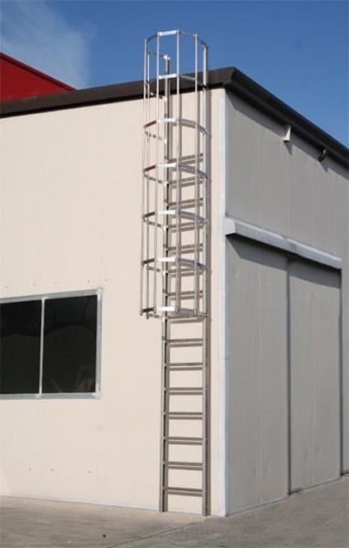 Sicurezza del tetto a norma di legge vertical works - Copertura scala esterna ...